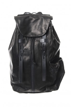 Yohji Yamamoto 18-19AW Military backpack scratch horse leather