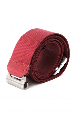 JULIUS 17-18AW FIX BELT RED