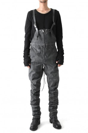 SADDAM TEISSY 18SS Cold Dye Tight Curved Overall