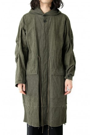 The Viridi-anne 18SS High Density Weather Hood Coat