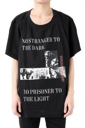 CAVIALE 18SS NO STRANGER TO THE DARK T-SHIRT