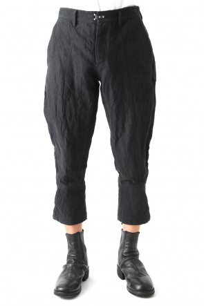 SADDAM TEISSY 18SS Jacquard Tapered Cropped Pants