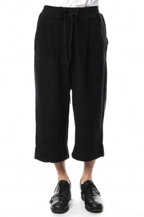 The Viridi-anne 18-19AW Brushed Fleece Wide Pants