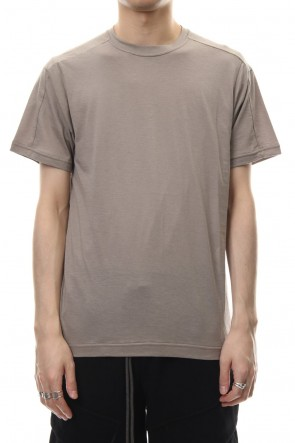 The Viridi-anne 19SS Cotton silk regular T-shirt G.Beige