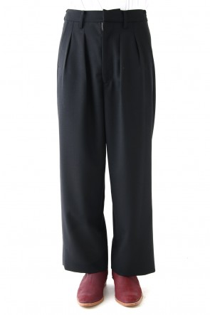 DIET BUTCHER SLIM SKIN 18SS Panama Wool Wide Pants