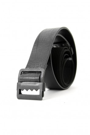 The Viridi-anne 18SS Leather x PP Tape Combination Belt