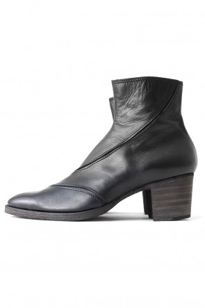 FAGASSENT 17-18AW Calf Leather Bullet Boots