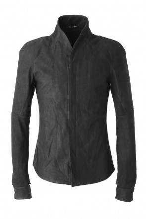 SADDAM TEISSY 17-18AW Kip Nubuck Leather Shirt