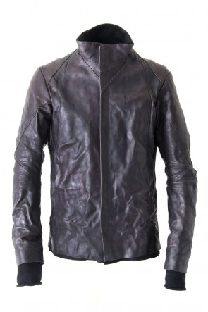 FASCINATE 10th Anniversary High Neck Jacket Guidi Calf Leather
