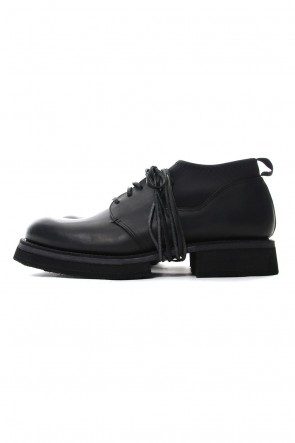 The Viridi-anne 18-19AW GUIDI leather shoes