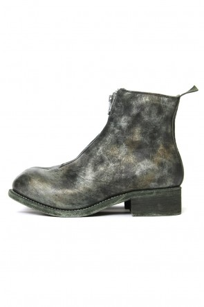 Guidi 18SS LIMITED Front Zip Boots Double Sole - Horse Full Grain Leather CAMO