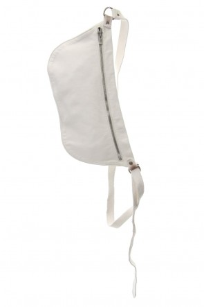Guidi 19SS Body Bag Soft Horse Full Grain - Q10 - WHITE