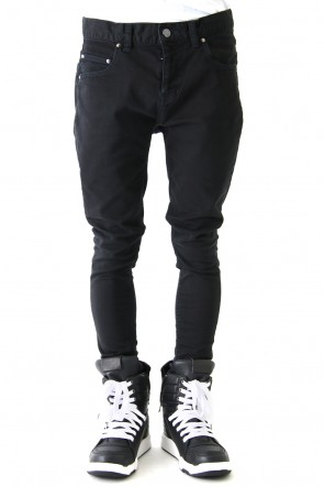 DIET BUTCHER SLIM SKIN 18SS Super Stretch Loose Fit Pants