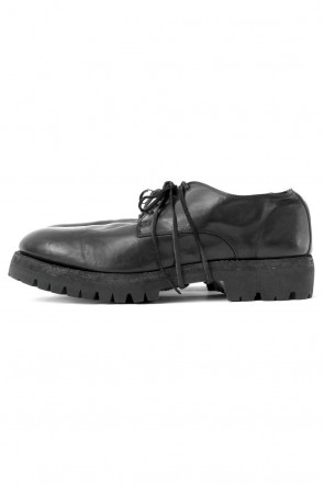 Guidi 17-18AW Classic Derby Sole Rubber - Horse Full Grain Leather