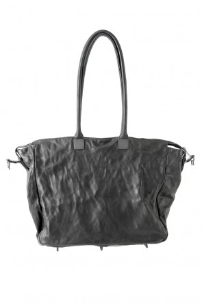 Trapezium Boston Bag Horse Leather