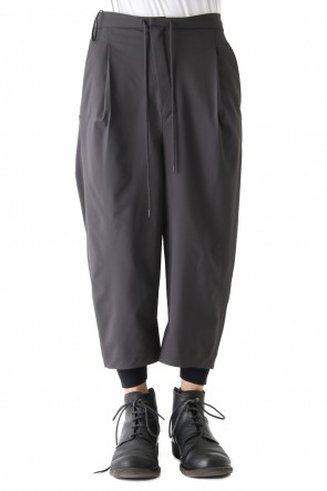 Layered Pants Silk Gabardine