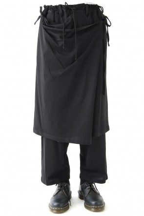 Ground Y 18SS Pants with attached Skirt 40/C Combed Jersey