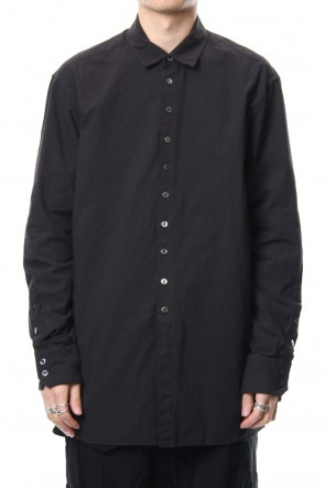 The Viridi-anne 18-19AW Irregular button shirt