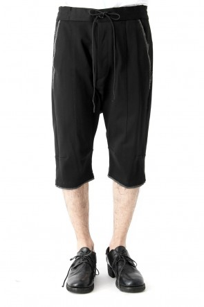 SADDAM TEISSY 18SS Heavy Jersey Cotton Jersey Short Pants
