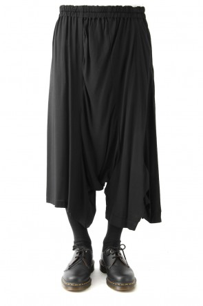 Ground Y 18SS Super Rayon Twill Deformed Twist Pants