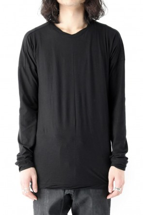 SADDAM TEISSY 18SS 80/- Plain Stitch Twisted Dolman Long Sleeve T-Shirt