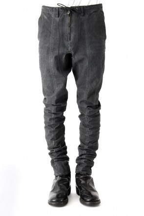 SADDAM TEISSY 18SS Cold Dye Tight Curved Pants