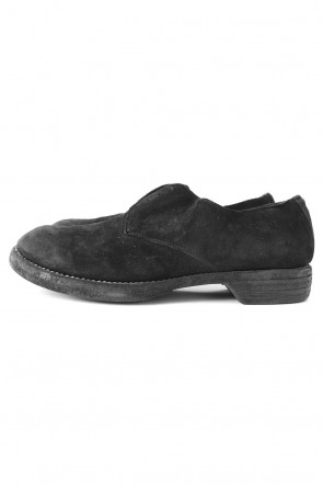 GuidiBASICMilitary Derby Shoes Calf Reverse - 5302N