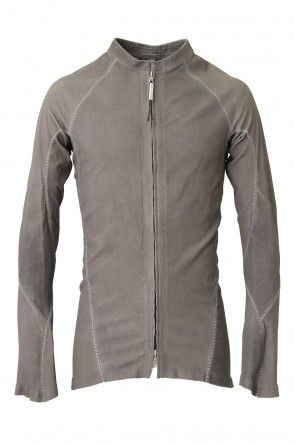 ISAAC SELLAM 18SS Stretch Leather Shirt - ARPENTEUR ALU