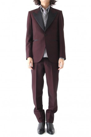 QL Mansion Maker 17-18AW SIGNATURE 1B PEAKED LAPEL TUXEDO (2P)