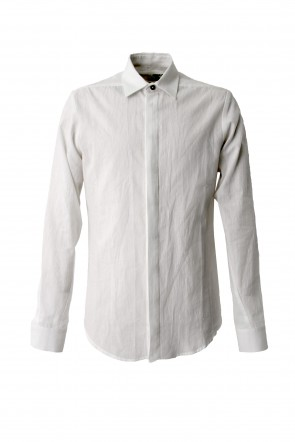 Hannibal 18SS Shirt James Cotton Linen Ramie