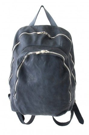 Guidi BASIC Soft Horse Leather Back Pack - DBP06 - GRAY