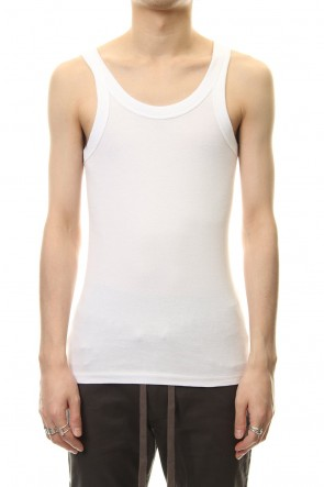 ATTACHMENT19SSHigh tension milling tank top White
