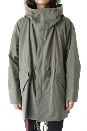 Over Size Military Coat