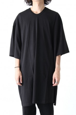 COTTON BOIL JERSEY EXTRA OVER SHORT SLEEVE CUT SEW Ver.1