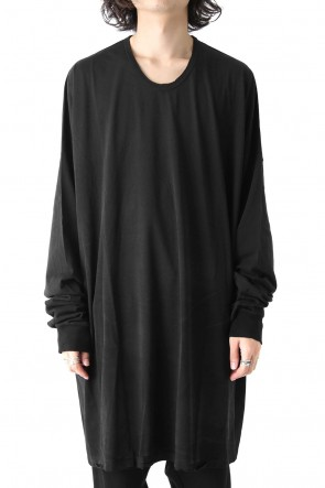 COTTON BOIL JERSEY EXTRA OVER LONG SLEEVE CUT SEW Ver.4
