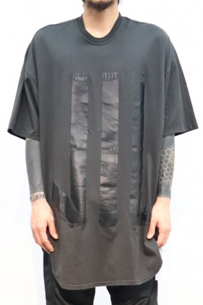 NILøS 19-20AW KAMON ROUND T-SHIRT Dark Gray