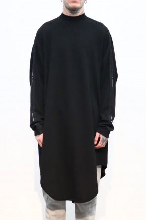 NILøS 19-20AW SIDE TAPEDRAPING OVERSHIRT