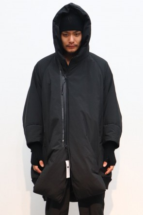NILøS 19-20AW OVERTUCK PADDING HOODED COAT