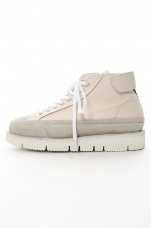 The Viridi-anne 19SS Platform sneakers Ecru