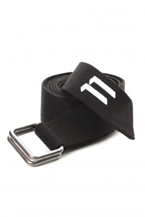 11 BY BORIS BIDJAN SABERI 19-20AW Belt1 Black