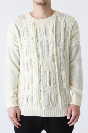 individual sentiments 16-17AW Wool Jacquard Sweater