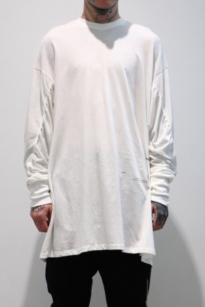 JULIUS 19-20AW GATAER SEAMD LONG SLEEVE SHIRT Off