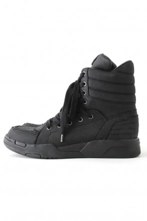 Side Zip Hi-Top Sneakers Massive Cordura