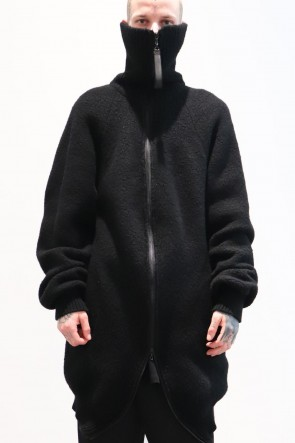 JULIUS 19-20AW MASKED HIGHT NECK JACKET