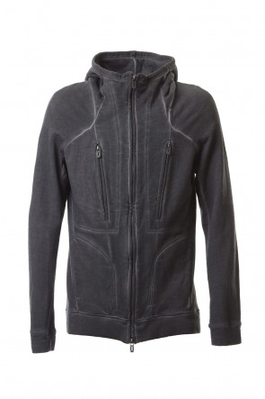SADDAM TEISSY 19-20AW Fleece cold dyed Parka - ST101-0049A Charcoal