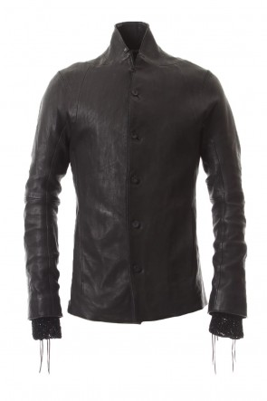 SADDAM TEISSY 20SS Japan Calf Leather Tailored Shirt JKT