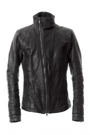 SADDAM TEISSY 20SS High-Neck horse leather JKT