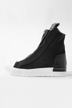 CINZIA ARAIA 17SS 17SS NYCER W Front Zip Sneakers  BLACK