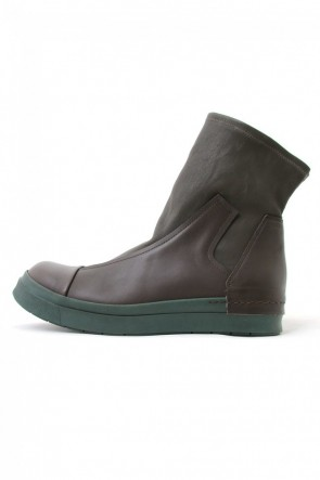 CINZIA ARAIA  BERTA Switching Sneakers BROWN×GREEN
