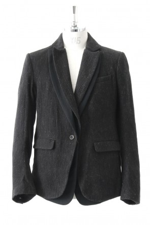 Shetland Wool Cotton Tweed Jacket